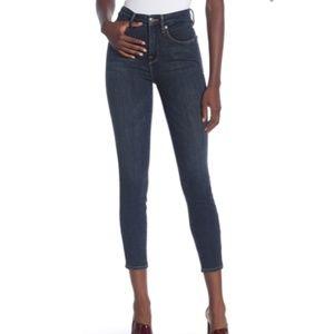 Good American High Waist Good Legs Crop Jean